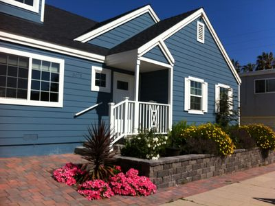 Pacific Beach house rental - Tourmaline House Vacation Rental: 2 blocks to beach, shops and restaurants.
