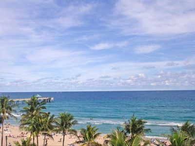 Deerfield Beach condo rental - View from north patio