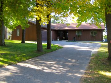 Wautoma house rental - Sunset Ridge Entrance w/ 2 car garage and extra parking available