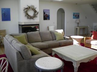 Isle of Palms house photo - Surround sofa set for TV viewing and social get together