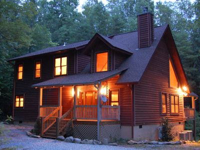 Cashiers house rental - Newer mountain home built in 2008