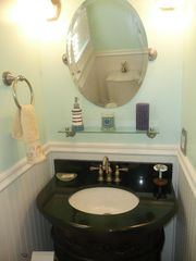 Newport cottage photo - main level full bath