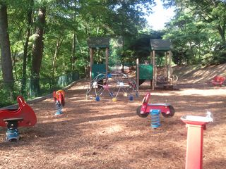 Atlanta house photo - Neighborhood park has play area for kiddies.