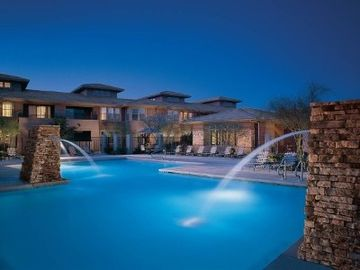 Other Scottsdale Properties condo rental - Pool at night