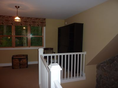 New Buffalo house rental - Loft with desk / book case. WiFi and printer included.