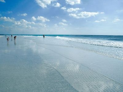 Beautiful Siesta key beach rated # 1 with it's powder white sand