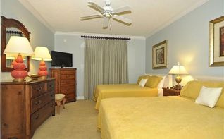 South Beach Ocean City condo photo - Guest Bedroom with 2 Queen beds