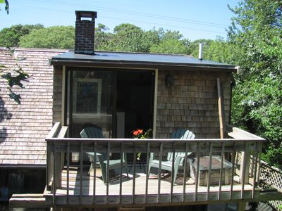 Provincetown house rental - Deck off 2nd floor bedroom