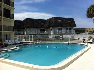 Cocoa Beach condo photo - View of pool area