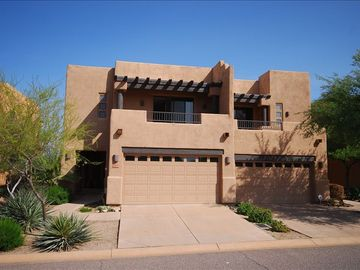 Scottsdale Troon townhome rental - Front of Home