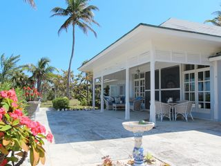 Double Bay estate photo - Main House patio with ocean views