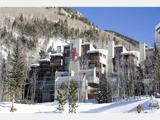 Taos Ski Valley condo photo - St. Bernard Condominiums - view from village