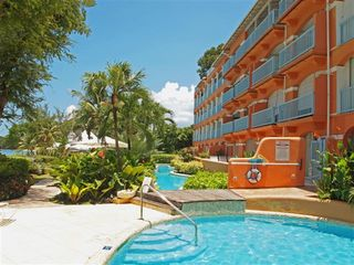 Holetown condo photo - Villas on the Beach Pool Deck