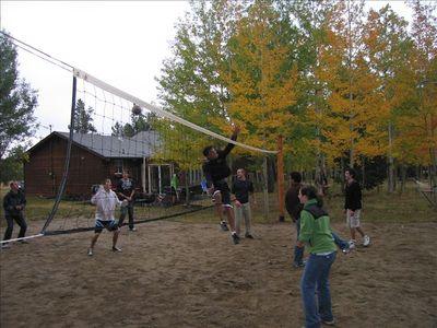 Volleyball in the Fall