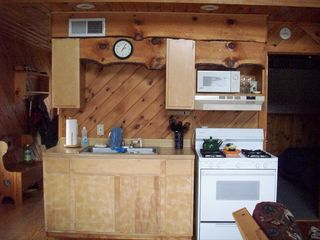 Lake Algonquin - Wells cottage photo - Kitchen and Gas Range