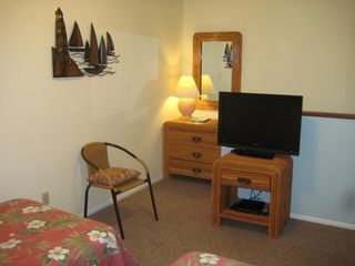 St. Augustine Beach condo photo - Guest Bedroom with HDTV/DVR/DVD