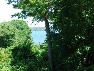 Saunderstown house photo - View of Narragansett Bay From Deck
