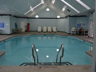 Bushkill house photo - Indoor pool and jacuzzi