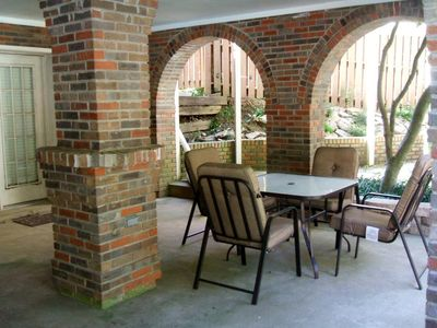Florence house rental - Outdoor patio outside of Safari Hideaway