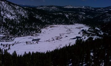 Squaw Valley as seen from the lifts.