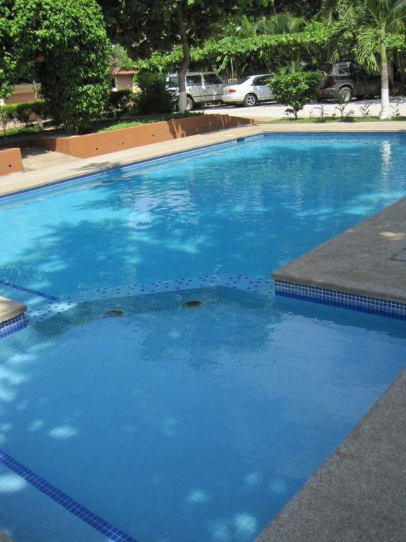 Pool, right outside the front door