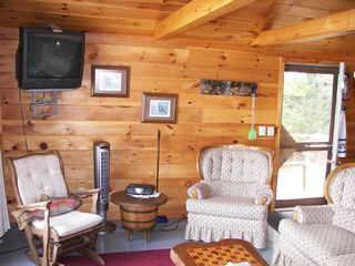 Enfield cabin photo - View of the living room area