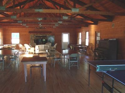Silver Lake cottage rental - Club House
