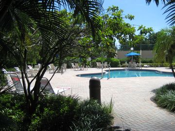 Delray Beach condo rental - The pool, there are two of them