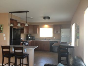 Yucca Valley house rental - With an open floor plan, from the kitchen you don't miss a thing.