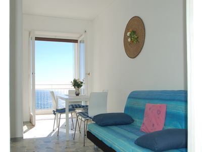 SAN REMO SMALL APARTMENT BEACH FRONT wonderful view