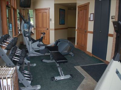 Workout Room located downstairs