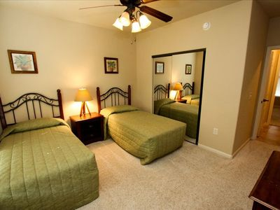 Fourth Bedroom, Twin Beds with Shared Bath