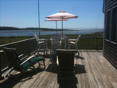 Mattapoisett cottage rental - Deck