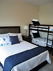 Twin bunks w/ queen bed