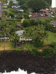 Waimea Bay house photo - Waimea Wonder is one house back from house in photo.