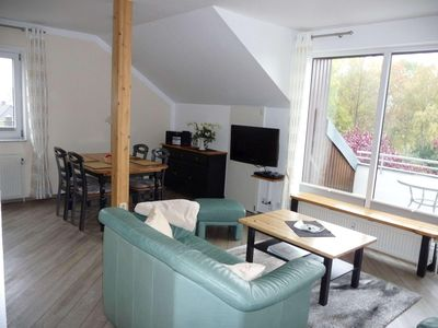 Comfortable apartments in a quiet location (adjacent to fields) guarantee