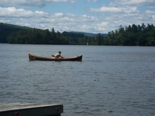 Squam Lake house photo - Quiet and peaceful for canoeing