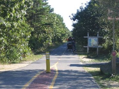 Famous Eastham Bike Trails - short ride from cottage