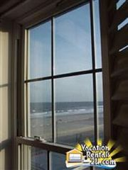 North Wildwood condo photo - Ocean & Piers View From Twin-Over-Full Bedroom On 2nd Floor