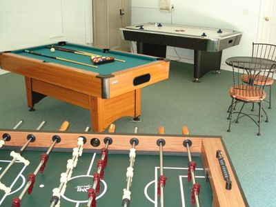 Anyone for pool, fooseball, air hockey or darts?