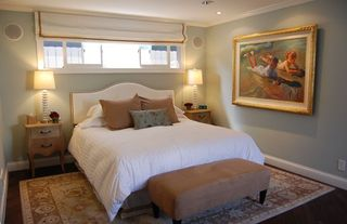 Manhattan Beach house photo - Master bedroom with King bed