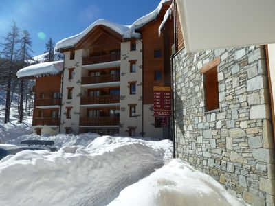 in VARS, a corner studio 24m2 mountain to 4 persons