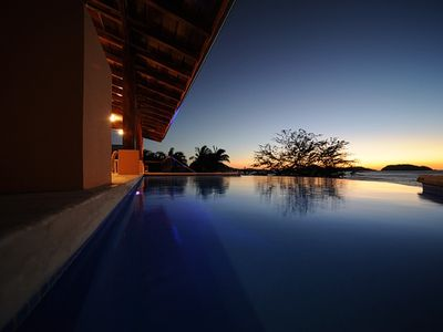 Costa Rica Beachfront Vacation Home -- Gorgeous Sunsets Guaranteed