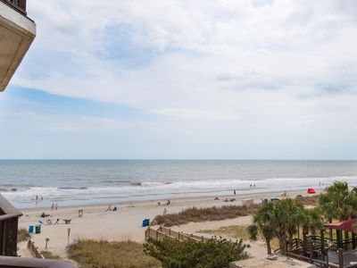 1BD King/1BA  in oceanfront Bld with wide ocean view
