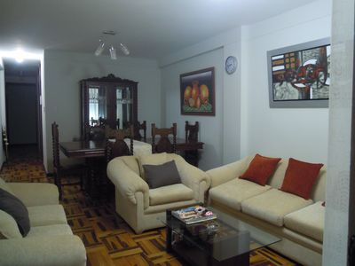 Trujillo- Peru Affordable 5 stars rental 3 beds 1 bath wifi,cable tv and washer