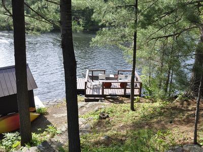 Peaceful, Picture Perfect Setting with Great Waterfront, Swimming & Motor Boat
