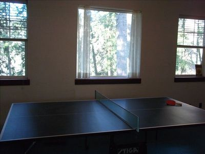 Large upstairs game room -- Ping-Pong anyone?