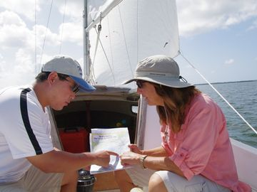Take a Learn to Sail course from one of our experienced sailing instructors.