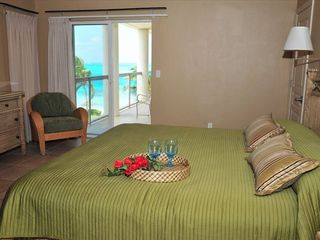 Providenciales - Provo condo photo - Penthouse bedroom also with Grace Bay views
