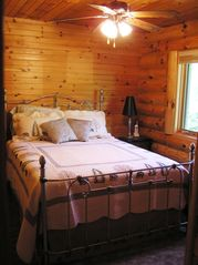 Burns Lake cabin photo - Upper level bedroom #2